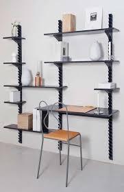 wall mounted adjustable shelving design