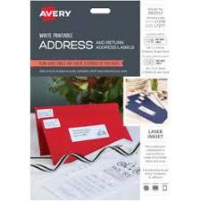 Avery L7276 7 Address And Return Address Labels White Pack 258