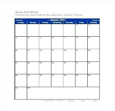 printable monthly blank calendar excel templates calendar business calendar template printable