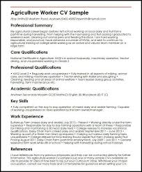 Curriculum Vitae Examples Day Job | How To Write A General Resume ... Curriculum Vitae Examples Day Job Free Cv Examples Templates Creative Downloadable Fully Agriculture Worker Cv Sample