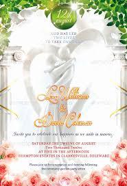 50 Wedding Invitation Templates Photoshop Culturatti