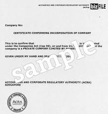 Example Of Share Certificate Enchanting How To Form A Singapore Private Limited Company Registration Guide