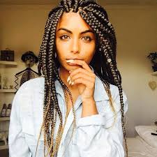 Latest Braids Hairstyle 65 box braids hairstyles for black women 7361 by stevesalt.us