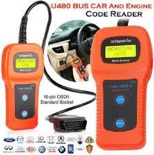 Car Diagnostic Scanner Tool <b>U480</b> OBD2 <b>CAN BUS &</b> Engine Code ...