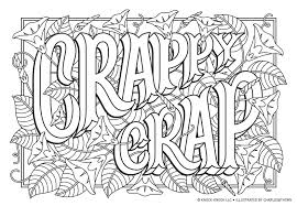 Free large print coloring scriptures for adults. Nsfw But Safe For Wfh Printable Adults Coloring Pages