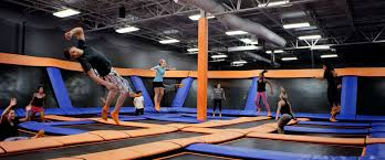 kids fly high at the gta s newest sky zone location in vaughan help we ve got kids