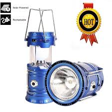 Portable Bright Lights 3 In 1 Rechargeable Solar Led Camping Lantern Portable