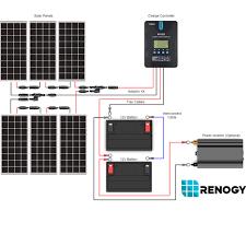 solar wiring diagram batteries wiring generator batteries \u2022 wiring how to install solar panels wiring diagram pdf at Solar Wiring Diagram