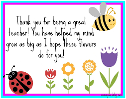 Thank You Teacher Quotes Classy Thank You Quotes For Preschool Teachers Friendsforphelps