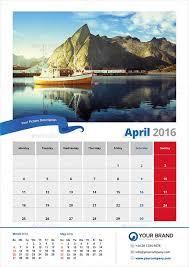 Calender Design Template Calendar Design Templates Photography Calendar