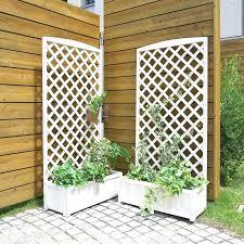 trellis planter with garden trellises outdoor box auckland