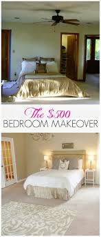 diy bedroom makeover. this is a really great budget bedroom makeover. love the before and after pics! diy makeover e