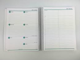 Daily Checklist Planner Agendio Review Custom Personalised Weekly Planner Pros Cons