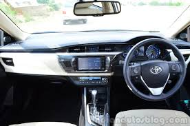 2014 Toyota Corolla Altis Petrol Review interior - Indian Autos blog