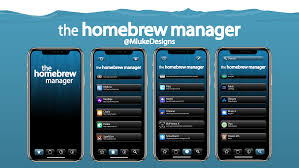 The Homebrew Manager - A Cydia skin concept