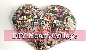 Paper Mache Decorating Diy Paper Mache Heart Collage Wall Decor Youtube