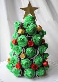 creative christmas cupcakes. Simple Christmas Christmas Tree Cupcakes And Creative E