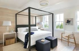 black wood canopy bed – bambooshoot