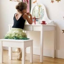 vanity set for girls. debutante vanity and bench set for girls g