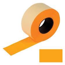 <b>Этикет</b>-<b>лента 26х16 мм</b>, <b>прямоугольная</b>, оранжевая, комплект 5 ...
