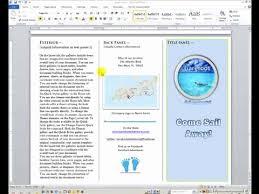 How Do You Make A Brochure On Microsoft Word 2007 Make A Brochure In Microsoft Word 2007 Fresh How To Make Brochures