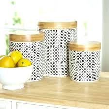 pretty white kitchen canisters modern kitchen canisters modern kitchen canister sets 3 piece set reviews main