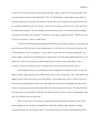 when i thought i lost it all essay   2