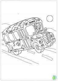 Small Picture The Magic School Bus Coloring Pages With Girl Driver To Print Also