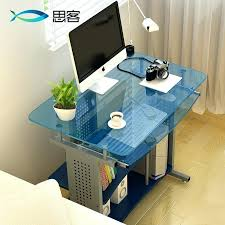ikea glass computer desk best off the table glass computer desk desktop minimalist desk study desk ikea glass computer desk