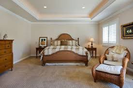 Golf Course Home traditional-bedroom