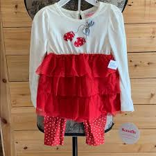 Nannette Baby Clothing Size Chart Nannette Kids 2 Piece Toddler Girl Set Nwt