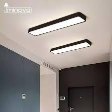 Hiện Đại Đèn LED Ốp Trần Lắp Mặt Đèn Hình Chữ Nhật Bảng Điều Khiển Từ Xa  Văn Phòng Phòng Ngủ Phòng Khách Học Chiếu Sáng 110V 220V|Ceiling Lights