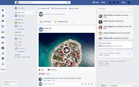 Facebook Page New Design New Tools And Design For Facebook Messenger For Web