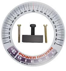 Power Driven Diesel P Pump Timing Kit