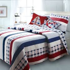 boys quilt bedding sets red white navy blue striped boys bedding twin full queen king red boys quilt bedding sets