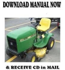 john deere hydro 165 lawn tractor