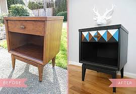 old furniture makeovers. View In Gallery Vintage Nightstand Makeover Old Furniture Makeovers