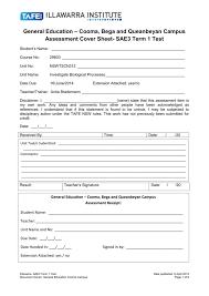 Assessment Task Template