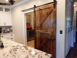 image of diy sliding barn door hardware kitchen