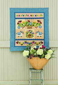 Tips for Floral Quilt Projects - Keepsake Quilting & garden applique quilt project Adamdwight.com