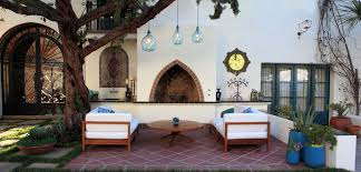 moroccan outdoor lighting. Outdoor Decorating Ideas, 2014, Eclectic Patio Seating Set, Furniture Moroccan Lighting