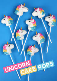 Unicorn Cake Pops Bakerellacom