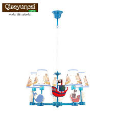 2018 qiseyuncai child room cute cartoon led chandelier girl princess room warm personality creative bedroom lighting from alluring 274 2 dhgate com