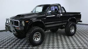 1981 TOYOTA PICKUP BLACK - YouTube