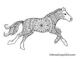Small Picture Horse Coloring Pages And Printables Inside glumme