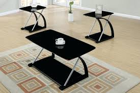 glass coffee and end tables 3 coffee table set glass top coffee tables canada