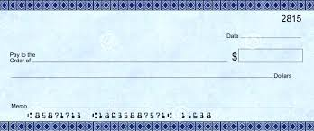 Blank Cheque Template Simple Printable Personal Blank Check Template Sample Calendar 48
