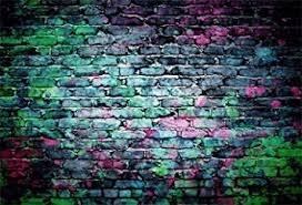Laeacco Colorful Brick Wall Backdrop 10x8ft Vinyl ... - Amazon.com