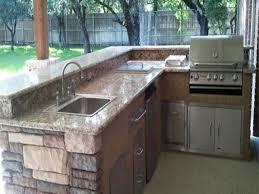 outdoor kitchen bar designs new l shaped outdoor kitchens best l shaped outdoor kitchen plans