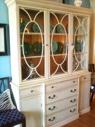 china cabinets and hutches glass door